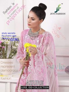 Juvi Fashion Azure Luxe Eid Collection Designer Soft Net with Heavy Embroidery Work Pakistani Suits Collection Punjabi Salwar Suits, Pakistani Salwar Kameez, Pakistani Suits, Shalwar Kameez, Kaftan Style, Lehenga Style, Party Wear Kurtis, Party Wear Sarees, Kanchipuram Saree Wedding