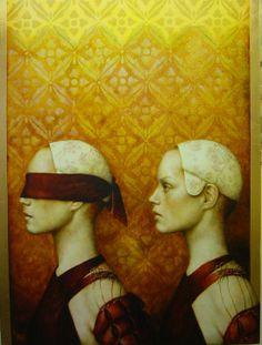 'Follow Me'...Artwork of Pam Hawkes. -Penny-