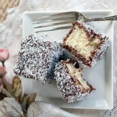 If you grew up in Cleveland Ohio you've probably had one of these delicious little cakes. I'm hoping to replicate those wonderful memories with this recipe. Cake Dip, Yummy Treats, Yummy Food, Coconut Bars, Frozen Cake, Thinking Day, Little Cakes, Bakery Cakes, Vegetarian Chocolate