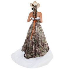 Realtree® Camo Wedding Dress | Camo Formal Wear | Camo Prom Dress
