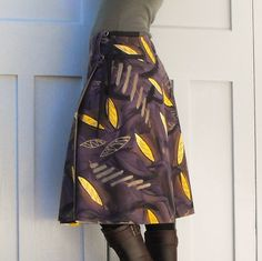 Kina Colour wearable art wraparound skirt | Felt