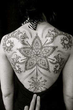 Boho tribal tattoo