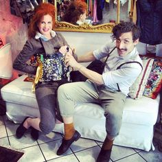 Milano e stile - Venette Waste visits Mezzobusto, custom made corset store in Milano