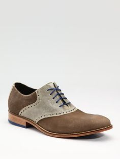 Cole Haan  Air Colton Saddle Oxfords mens fashion accessories shoes