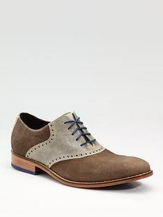Cole Haan  Air Colton Saddle Oxfords mens fashion accessories shoes