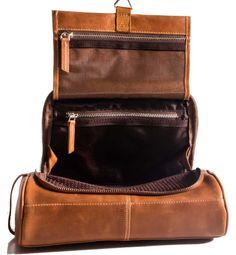 fd36403f7ef3 Amazon.com   Toiletry bag Shaving Kit Dopp Kit Groomsmen Gift Leak proof  Travel Case with Hanging Hook- Black   Beauty