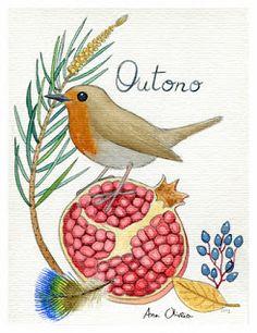ilustrações, desenhos e outras coisas...: Dias de Outono