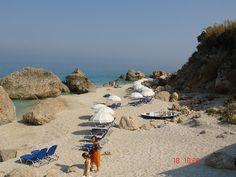 Kalamitsi beach, Lefkada Greece #Greece #Europe #Travel #Hotels