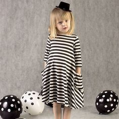 New autumn girls dresses stripe kids dress children casual long sleeve  dress children dresses girls #>=#>=#>=#>=#> Click on the pin to check out discount price, color, size, shipping, etc. Save and like it!