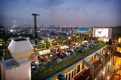 Rotterdam / Dakterras Grandcafé Engels Rotterdam Netherlands ( wordt nu verbouwd en in najaar 2014 weer open!)