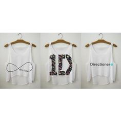 one direction merchandise | one direction shirts | Tumblr - Polyvore