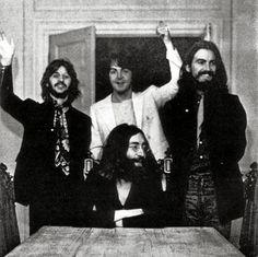 La última foto de los cuatro Beatles juntos, tomada el 22 de agosto de 1969.