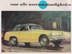 AUSTIN HEALEY Sprite Mk III Car Dealer Brochure (Holland 1964)