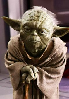 Yoda, It is! Don't you just love this wise old guy? Are you a fan of Star Wars? Who is your favorite character? Which film do you prefer? Star Trek, Star Wars Art, Star Ears, Science Fiction, Star Wars Tattoo, Darth Vader, Special Pictures, Love Stars, Star Wars Characters