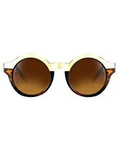 Bild 2 von Quay – Oh Mi Half – Runde Sonnenbrille