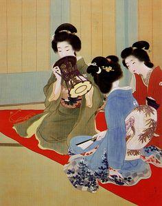 ❤ - Uemura Shōen (1875 - 1949)