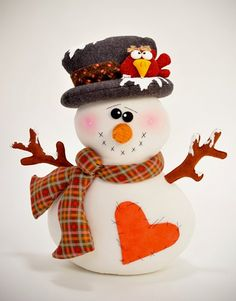 FREEZER ... the snowman $13.00.  LOVE IT!!!!! - is probably fabric, but would look good in polymer