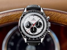 The original OMEGA CK 2998 was released in 1959 and has since become one of the most iconic Speedmasters in the world. G Shock Watches, Cool Watches, Watches For Men, Omega Speedmaster Moonwatch, Omega Seamaster, Hublot Watches, Men's Watches, Best Looking Watches, Mens Sport Watches