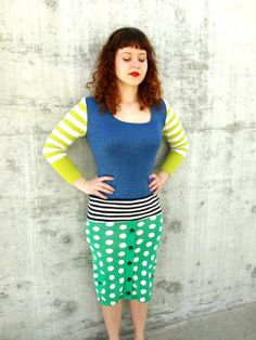 Women Sweater Dress Recycled Clothing by greenphilosophie on Etsy