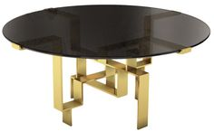 Round Metropolis Dining Table - Dering Hall