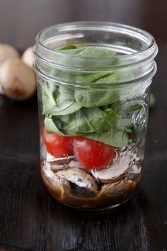 How to Make Salad Shakers - Perfect to Pack for Lunches and Picnics