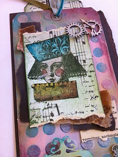 Lynne Perrella Stamps and Frescos