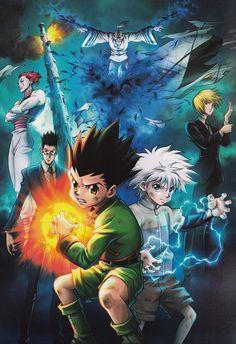 Hunter x Hunter, Gon Freecss, Isaac Netero, Kurapika , Hisoka