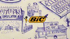 #BiC, El #Bolígrafo con mayúsculas  #Branding #Historia #Escritura #Boli BIC