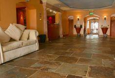 I'll take slate tile over hardwood flooring every time...