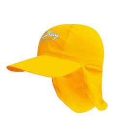 Take a look at this Yellow Ligyonery Desert Hat by SunWay on #zulily today!