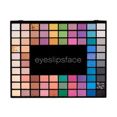 In this complete makeup artist eye shadow set, you'll find everything to go from dark and smoky eyes to fresh and bright, to totally funky looks, thanks to the 100 eye shadow colors in every set. Eye Palette, Makeup Palette, Eyeshadow Palette, Elf Eyeshadow, Beauty Care, Beauty Makeup, Wholesale Makeup, Eyes Lips Face, Cosmetic Shop