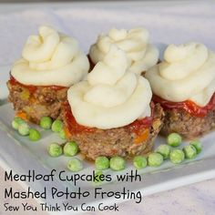 https://sewyoucancook.wordpress.com/2015/03/29/sundaysupper-april-fools/ #aprilfoolsday #meatloaf #cupcakes #SundaySupper