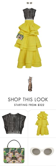 Summer FUn Gallerina wat. by mitchelcrandell on Polyvore featuring Rosie Assoulin, Gianvito Rossi, Furla and Acne Studios