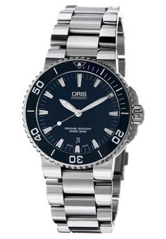 Shop for Oris Men's 01 733 7653 8 26 'Aquis Date' Blue Dial Stainless Steel Automatic Watch. Get free delivery On EVERYTHING* Overstock - Your Online Watches Store!