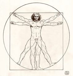 Vitruvian man: http://www.nogym.net/the-usain-bolt-guide-to-blazing-speed-how-the-golden-ratio-indicates-athletic-potential/