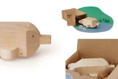 #Gioco Last Baiji by Alburno    45,00 € #bambini #kids #legno #wood #handmade #artigianato