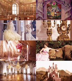 """Fairy Tale Picspam """" The Beauty and the Beast """""""