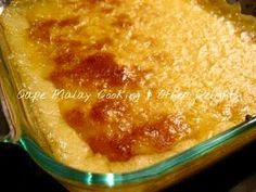 Sago Pudding – Cape Malay Cooking & Other Delights – Salwaa Smith Sago Pudding Recipe, Malva Pudding, Tapioca Pudding, Pudding Recipes, Coconut Pudding, Custard Recipes, Pudding Desserts, Milktart Recipe, Sago Recipes