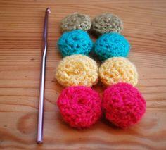 Deer Little Fawn: Crochet button pattern