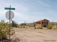 """the National Old Trails Highway in Ludlow California  Route 66 on My Mind """" Route 66 blog ; http://2441.blog54.fc2.com https://www.facebook.com/groups/529713950495809/ http://route66jp.info"""