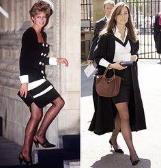 Black & White - Kate Middleton's Spot-On Princess Style - The Royal Wedding - Celebrity - InStyle
