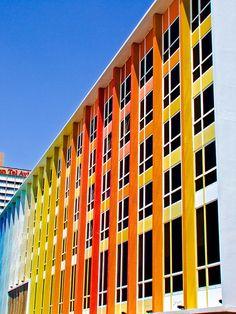 pantone hotel outside facade