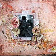 Riikka Kovasin - Paperiliitin: Love you, sister - Wow Embossing Powder