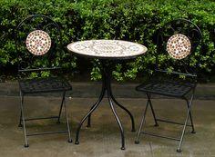 Attrayant Italia Mosaic Bistro Set (1 Table U0026 2 Chairs) #furniture #garden #