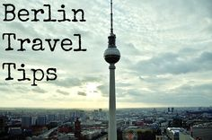 Berlin sounds so fun.