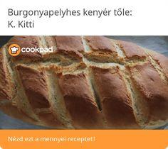 Burgonyapelyhes kenyér Banana Bread, Desserts, Food, Tailgate Desserts, Deserts, Essen, Postres, Meals, Dessert
