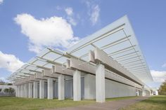 """""""Baby Rems"""" and the Small World of Architecture Internships,Renzo Piano's pavilion at Louis Kahn's Kimbell Art Museum. Image © Robert Laprelle"""