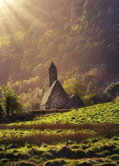 "putdownthepotato:  ""Glendalough, Co. Wicklow, Ireland by Paul Moore"""