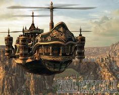 Awesome airships!