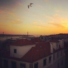 #miradouro #Lisboa #sunset